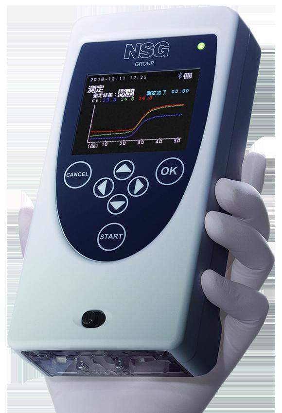 モバイル リアルタイムPCR装置PicoGene PCR1100